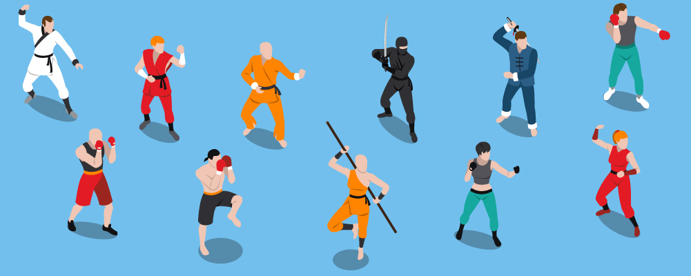 2 How Many Styles Of Martial Arts Are There